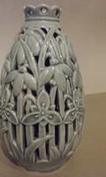 Fischer Emil áttört  váza
