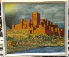Szűcs János (Mezőhegyes, 1917 — Budapest, 1995)  Festő, grafikus. Művészeti tanulmányait Gallé Tibo