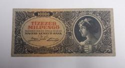 Nagyon szép 10000 milpengő 1946.