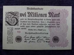 Német 2 millió márka 1923 UNC/id 4619/