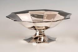 Ezüst art deco asztalközép/kínáló