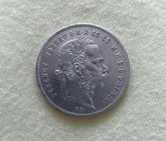 Ferenc József 1870 KB ezüst 1 Forint