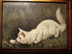 Mesterházy Dénes festmény