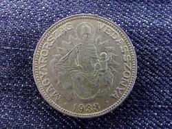Nagyon szép Madonnás ezüst 2 Pengő 1938/id 7066/