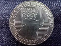 Ausztria, XII. Innsbrucki téli Olimpiai játékok ezüst (.640) 100 Schilling 1975/id 9094/