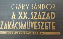 Csáky-szakácskönyv 1936   gyüjtői darab