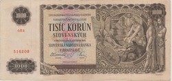 1000 Korún 1940 ( Első Szlovák Állam 1939 - 1945. )