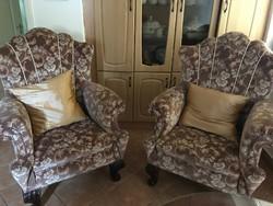 Antik füles fotelek