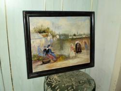 """Képes György (1906-2001) Tájkép"""""""