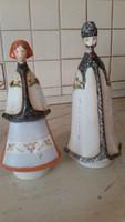 Aquincum juhász és neje porcelán szobor pár eladó!