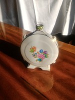 Kézzel festett Herendi porcelán kulacs