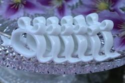 Masnis porcelán szalvétagyűrűk