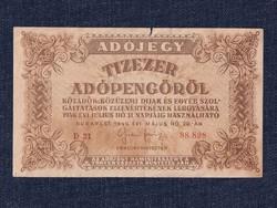 Adójegyek 10000 Adópengő bankjegy 1946 (id9865)