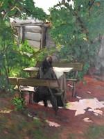 Litteczky Endre Napsütötte kerti asztal