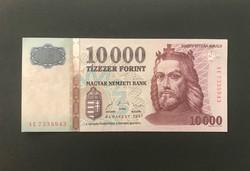 1997-es gyönyörű Tízezer forint