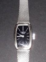 Vintage PALLAS STOWA full - 835 - ezüst női mechanikus karóra óra