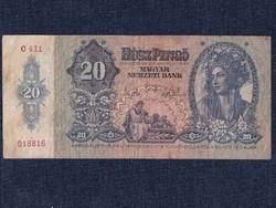 Háború előtti sorozat (1936-1941) 20 Pengő bankjegy 1941/id 9869/