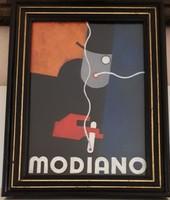 Berény Róbert: Modiano (plakáttervezet)