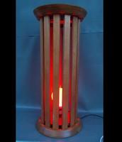 Retro fa álló padló lámpa