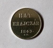Hat krajcár 1849! aUNC