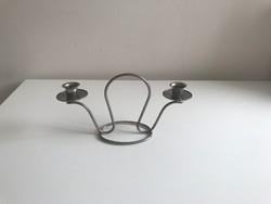 Asztali két ágú gyertyatartó 2 darab gyertyának