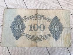 Régi német papir penz