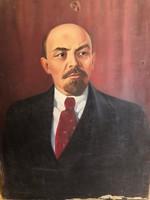 Régi Lenin portré