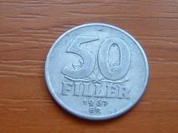 MAGYAR NÉPKÖZTÁRSASÁG 50 FILLÉR 1967