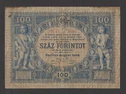 100 gulden/100 forint 1880. május. 01., VF+++!!  BRUTÁL RITKA!!  RRR!!