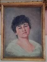 Szép női portré