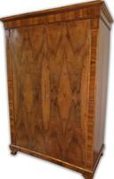 Biedermeier 2 ajtós ruhásszekrény