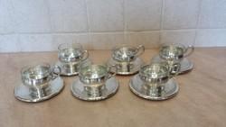 Ezüst kávéskészlet