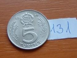 MAGYAR NÉPKÖZTÁRSASÁG 5 FORINT 1979 131.