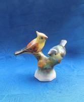 Bodrogkeresztúri kerámia madár pár faágon figura (po-2)