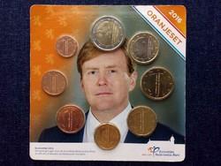 Hollandia 8 db-os euró érme szett 2016/id 9881/