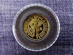 Magyar aranypénzek utánveretben I. Rudolf aranyforint 1583 .999 ezüst PP/id 9973/