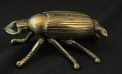 Bronz bogár hamutál