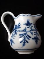Gyönyörű antik Meisseni porcelán tejes, tejszínes kiöntő