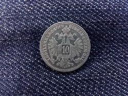 Ausztria Ferenc József ezüst 10 Krajcár 1869/id 9383/