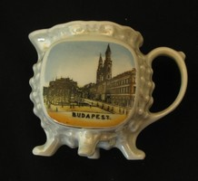 Budapest - MTA  emlék porcelán bögre
