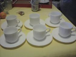 Tejüveg kávéskészlet