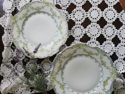 Vintage Eglantine porcelán tányérok