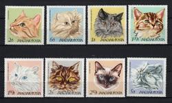 1968 Macskák postatisztán (0013)