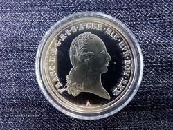 Magyar tallérok utánveretben I. (Lotaringiai) Ferenc tallérja .999 ezüst/id 10034/