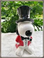 Retro-Vintage  kerámia Snoopy persely - RITKA !