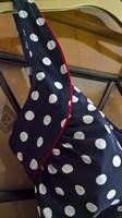 YAFFA SWIMWEAR márkájú, egyberészes, új fürdőruha strandkendővel – hibátlan, 15.000 Ft