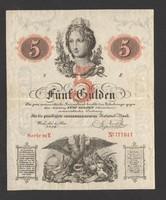 5 gulden 1859. EF!! GYÖNYÖRŰ!! RITKA!!