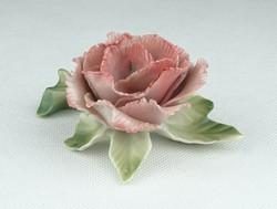 0P030 Régi ENS porcelán rózsa
