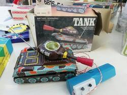Tank ME-060 dobozában szuper állapotban dobozában gyűjteményből