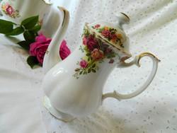 Royal Albert porcelán kancsó, kanna, tető párosítással